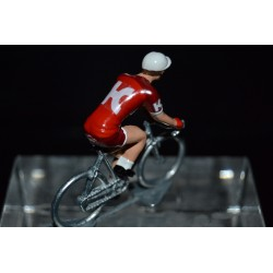 Katusha Alpecin 2017 - petit cycliste miniature en metal
