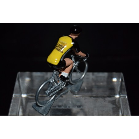 Lotto NL Jumbo 2017 - petit cycliste miniature en metal