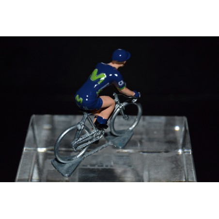 Movistar 2017 - Metal cycling figure