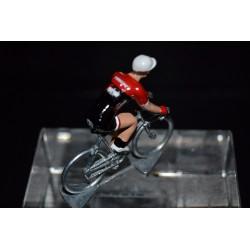 Trek Segafredo 2017 - petit cycliste miniature en metal