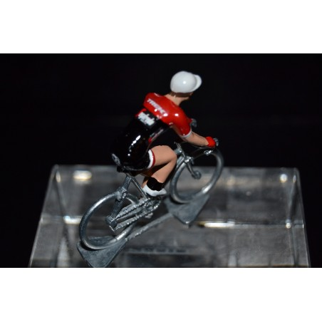 Trek Segafredo 2017 - Metal cycling figure