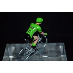 Cannondale Drapac 2017 - petit cycliste miniature en metal