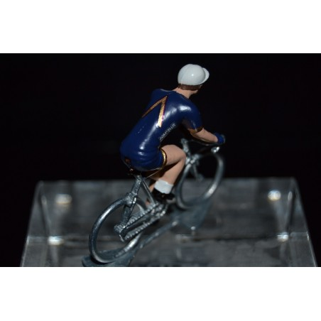 Aqua Blue Sport 2017 - Metal cycling figure