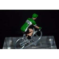 Caja Rural Seguros RGA 2017 - petit cycliste miniature en metal