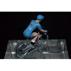 Delko Marseille Provence KTM 2017 - petit cycliste miniature en metal