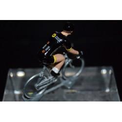 Direct Energie 2017 - petit cycliste miniature en metal