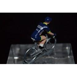 Wanty Groupe Gobert 2017 - petit cycliste miniature en metal