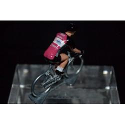 Roubaix Lille Metropole 2017 - petit cycliste miniature en metal