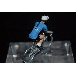 Auber93 HP BTP 2017 - petit cycliste miniature en metal