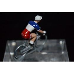 Champion de France 2016/2017 Arthur Vichot - petit cycliste miniature en metal