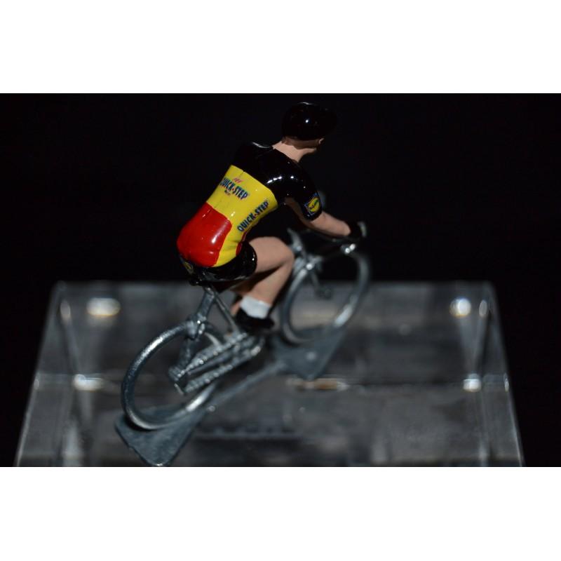 Champion de Belgique 2016/2017 Philippe Gilbert - Metal cycling figure