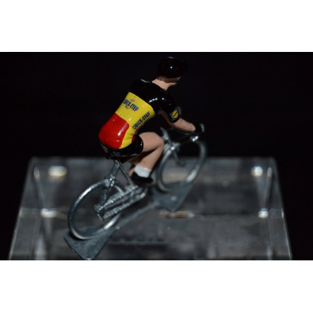 Belgium Champion 2016/2017 Philippe Gilbert - Metal cycling figure