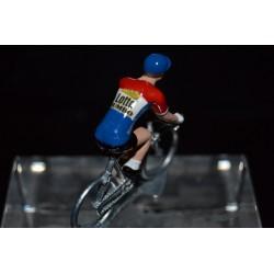 Champion des Pays Bas 2016/2017 Dylan Groenewegen - petit cycliste miniature en metal