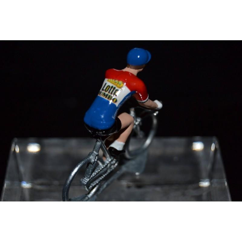 Nederlands Champion 2016/2017 Dylan Groenewegen - Metal cycling figure