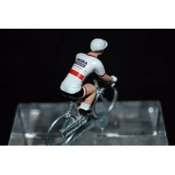 Champion de Pologne 2016/2017 Rafak Majka - petit cycliste miniature en metal