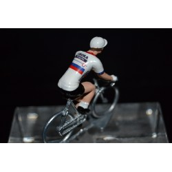 Slovakia Champion 2016/2017 Juraj Sagan - Metal cycling figure