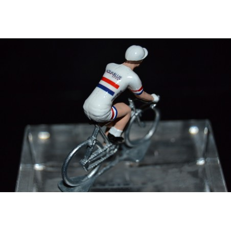 Great Britain Champion 2016/2017 Adam Blythe - Metal cycling figure