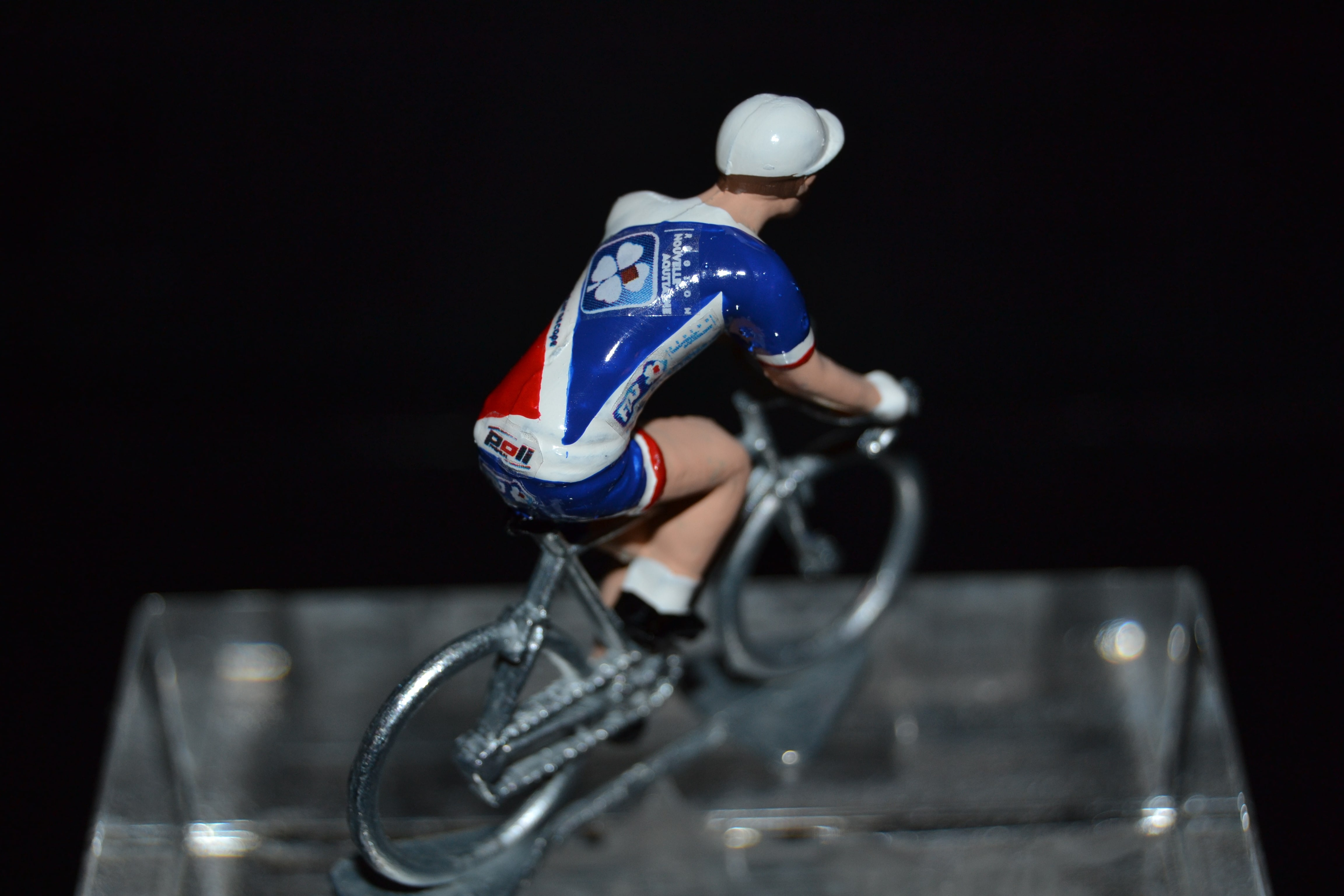 Champion of portugal j mendes small figurine-cycling cyclist figure