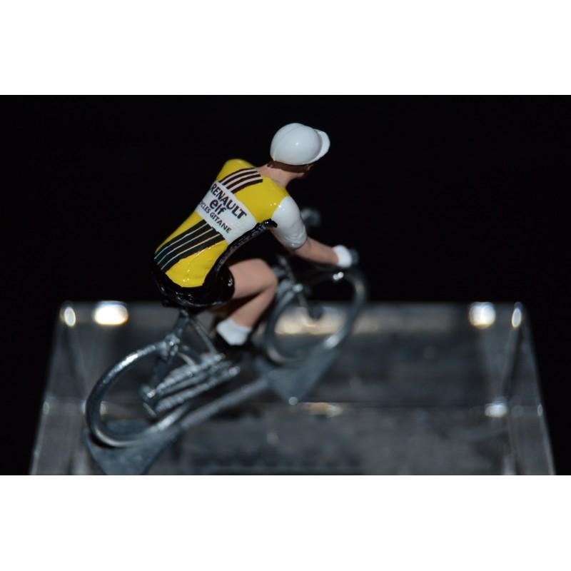 Renault - metal cycling figurine