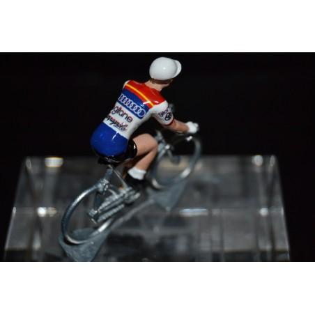 Gitane Campagnolo - petit cycliste en metal cycling figurine figure
