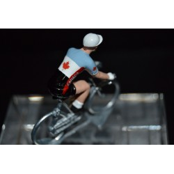 Equipe du Canada - petit cycliste en métal