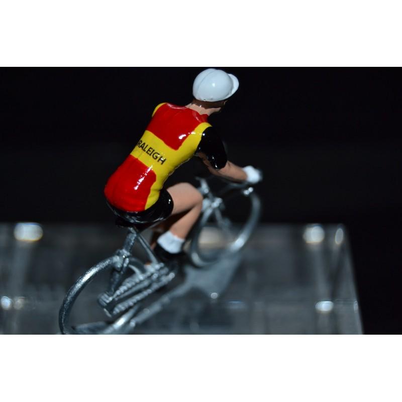 Ti Raleigh - cycling figurine, cyclist figure
