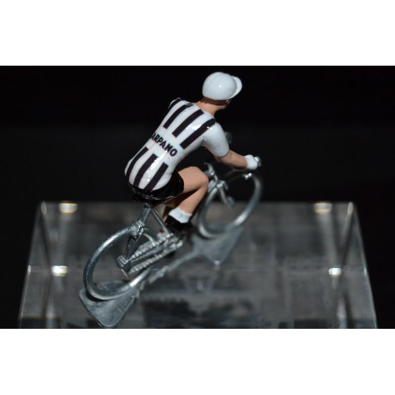 Carpano - cycling figurine, cyclist figure