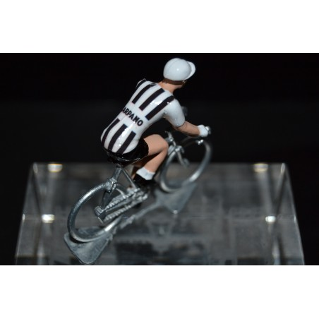 Carpano - cycling figurine, cyclist figure