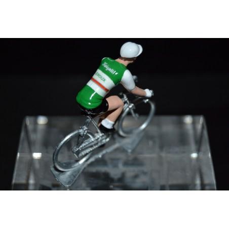 Helyett Leroux - cycling figurine, cyclist figure