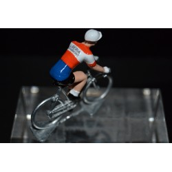 Liberia Grammont - petit cycliste en plomb metal zamak
