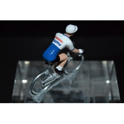 Margnat Palomma - petit cycliste en plomb metal zamak