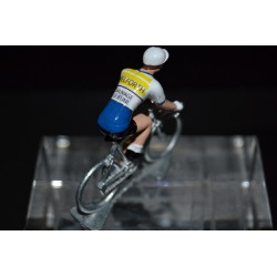 Pelforth Sauvage Lejeune - cycling figurine, cyclist figure