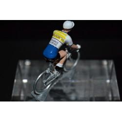 Pelforth Sauvage Lejeune - petit cycliste en plomb metal zamak