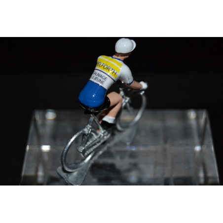 Pelforth Sauvage Lejeune - cycling figurine, cyclist figure