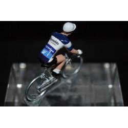 Reynolds - petit cycliste en plomb metal zamak