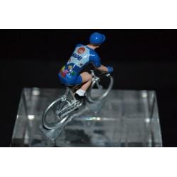 Mapei GB - petit cycliste en plomb metal zamak
