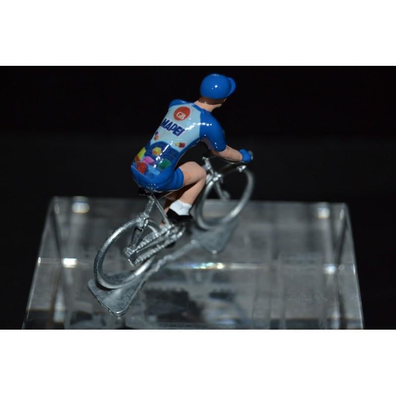 Mapei GB - cycling figurine, cyclist figure