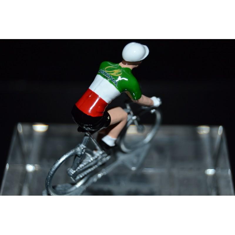 Champion Italie Fabio Aru - petit cycliste en acier