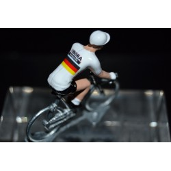 German Champion Marcus Burghardt  - cycling figurine, cyclist figure