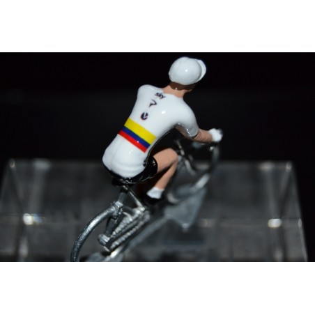 Champion de Colombie - Sergio Henao - petit cycliste en acier