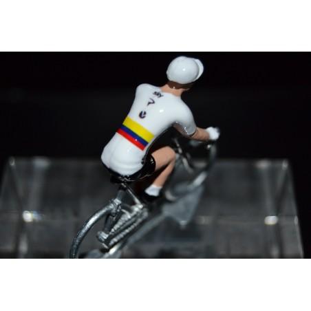 Colombia Champion Sergio Henao - cycling figurine, cyclist figure