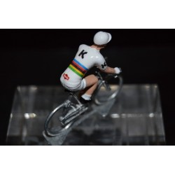 Tony Martin World Champion TT - die cast cycling figurine