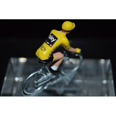 "Christopher Froome ""maillot jaune2017"" Sky - die cats cycling figurine"