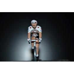 """Warren Barguil """"maillot a pois 2017"""" Sunweb - petit cycliste en acier"""