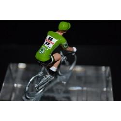 "Michael Matthews ""green jersey 2017"" Sunweb - die cats cycling figurine"