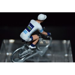"Simon Yates ""white jersey 2017"" Orica Scott - die cats cycling figurine"