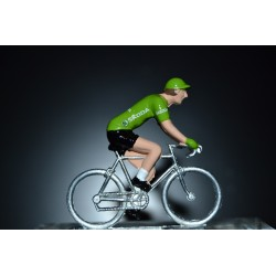 Green Jersey Vuelta - die cats cycling figurine