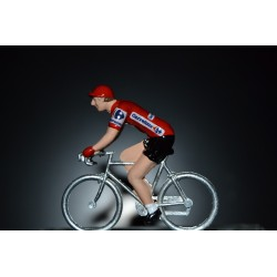 Red Jersey Vuelta - die cats cycling figurine
