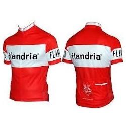 Flandria - Lot de 2 petits cyclistes en metal