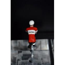 Faema - petit cycliste en metal